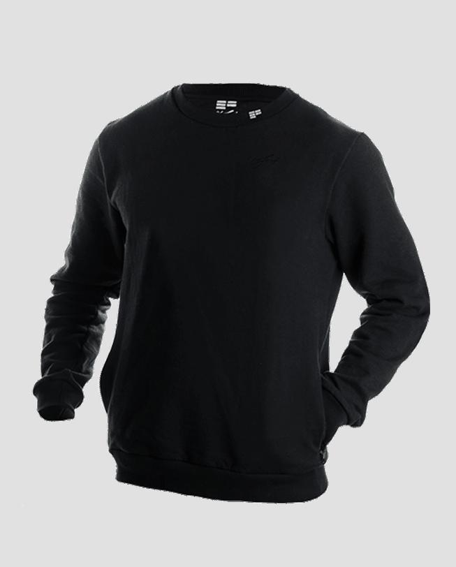 Crewneck-sweatshirt-all-black-front