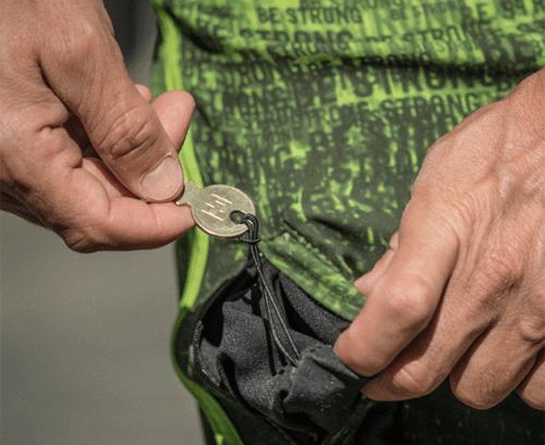 Boardshort BE STRONG ETRE-FORT Parkour Clothing Detail