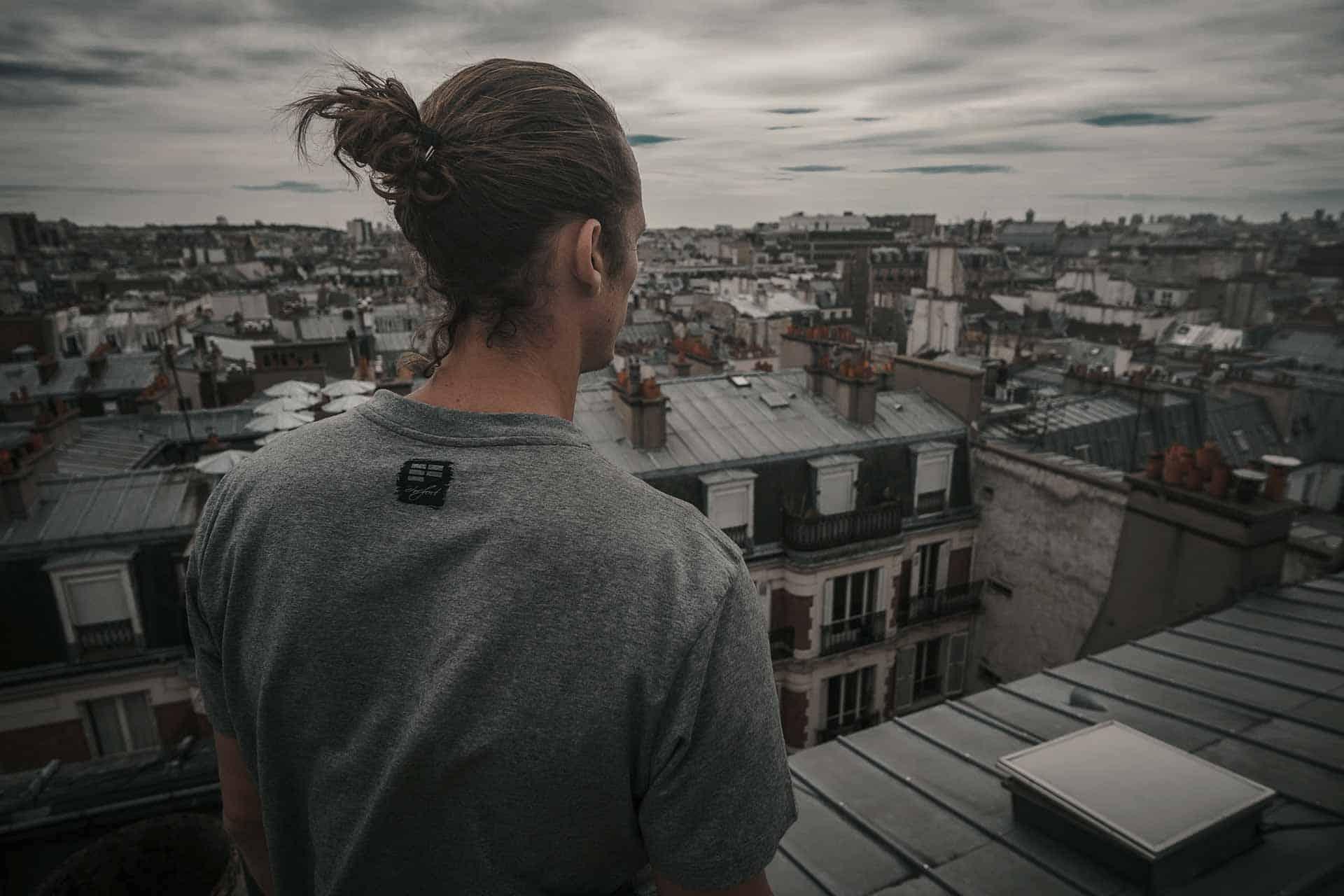 Parkour T-Shirt EFfect ETRE-FORT Parkour Clothing