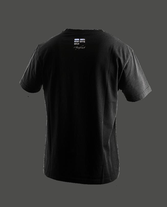 T-Shirt Parkour de Nuit ETRE-FORT Parkour Clothing back