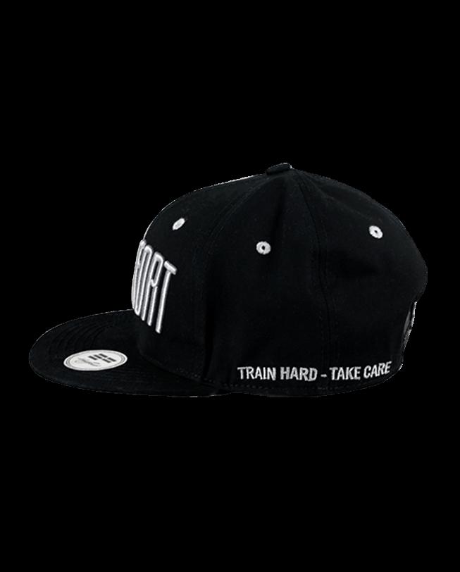 Snapback Cap Statement Black Train Hard Take Care