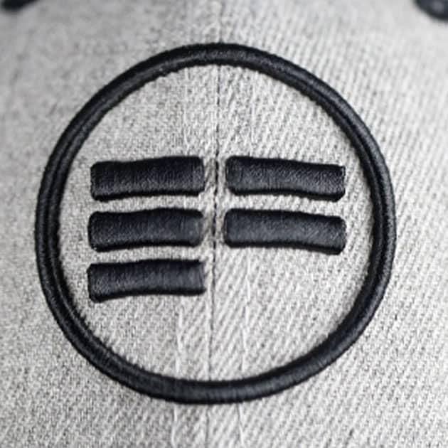 Snapback Cap Identity grey