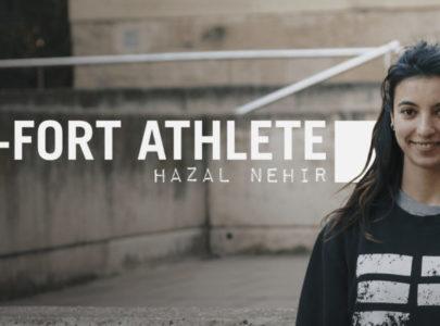 New ETRE-FORT Parkour and Freerunning athlete Hazal Nehir