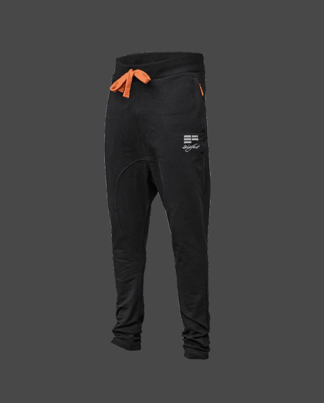 ETRE FORT Parkour Pants Slim Fit Black Front