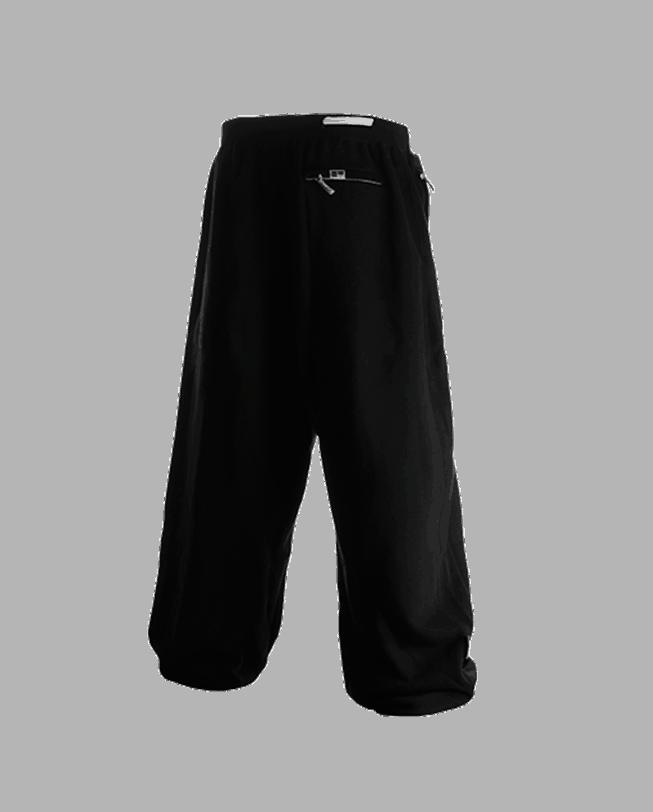 parkour pants ef-ot black back parkour clothing etre-fort