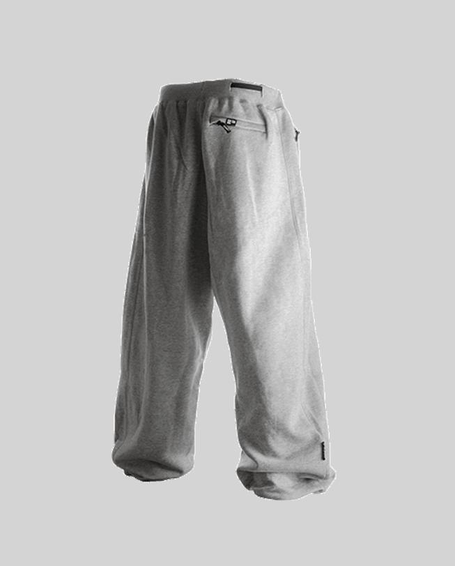 parkour pants ef-ot grey back parkour clothing etre-fort