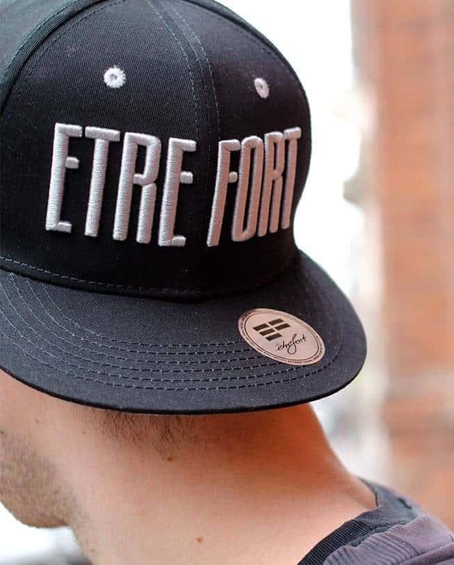 snapback cap black etrefort