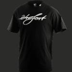 T-Shirt etrefort schwarz