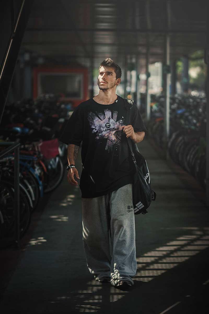 T-Shirt Parkour de Nuit ETRE-FORT Parkour Clothing