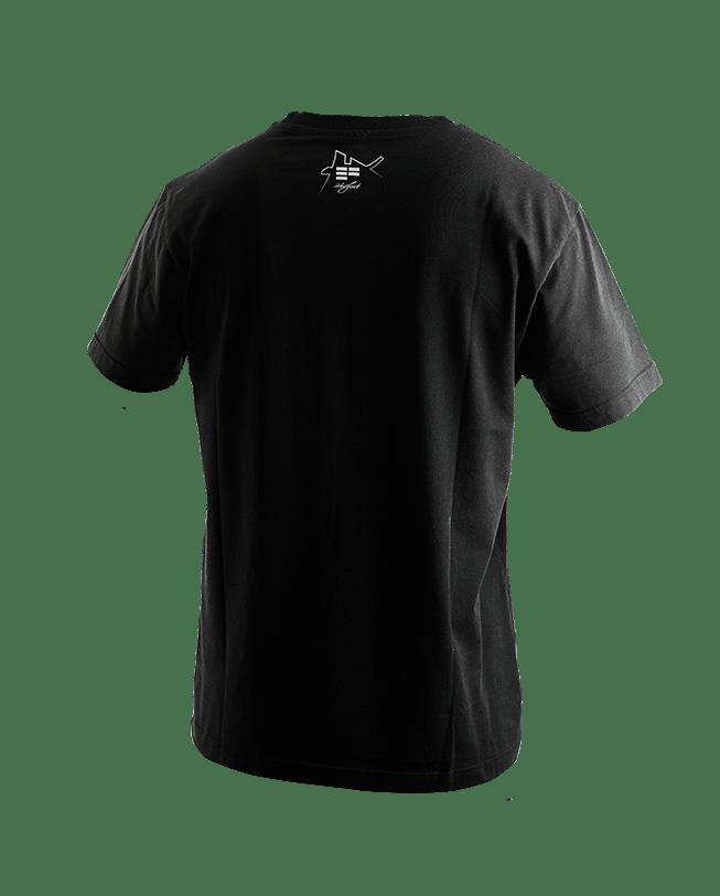 T-Shirt dame du lac black back | ETRE-FORT Parkour Clothing