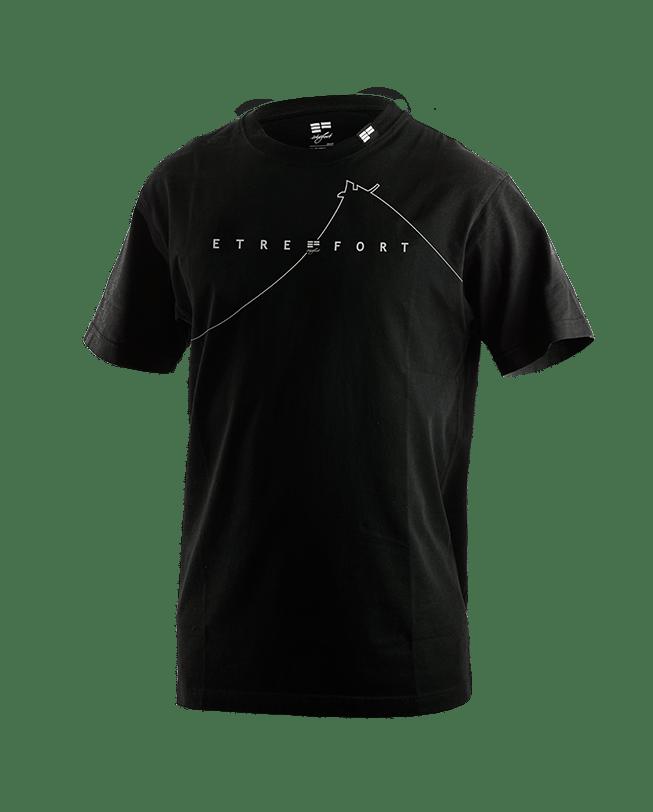 T-Shirt dame du lac black front | ETRE-FORT Parkour Clothing