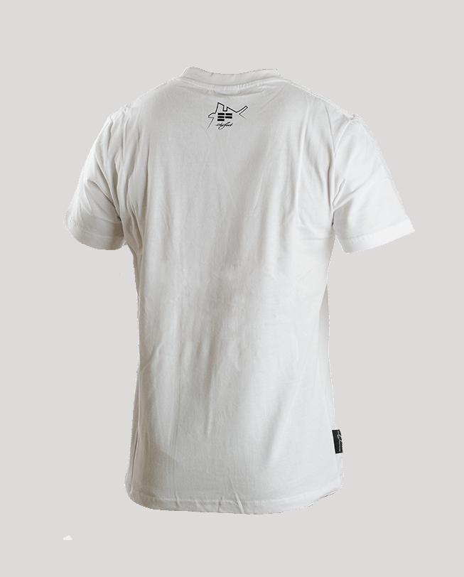 T-Shirt dame du lac white back | ETRE-FORT Parkour Clothing