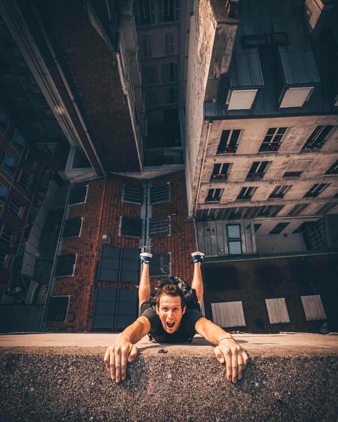 Paris Rooftop Parkour POV