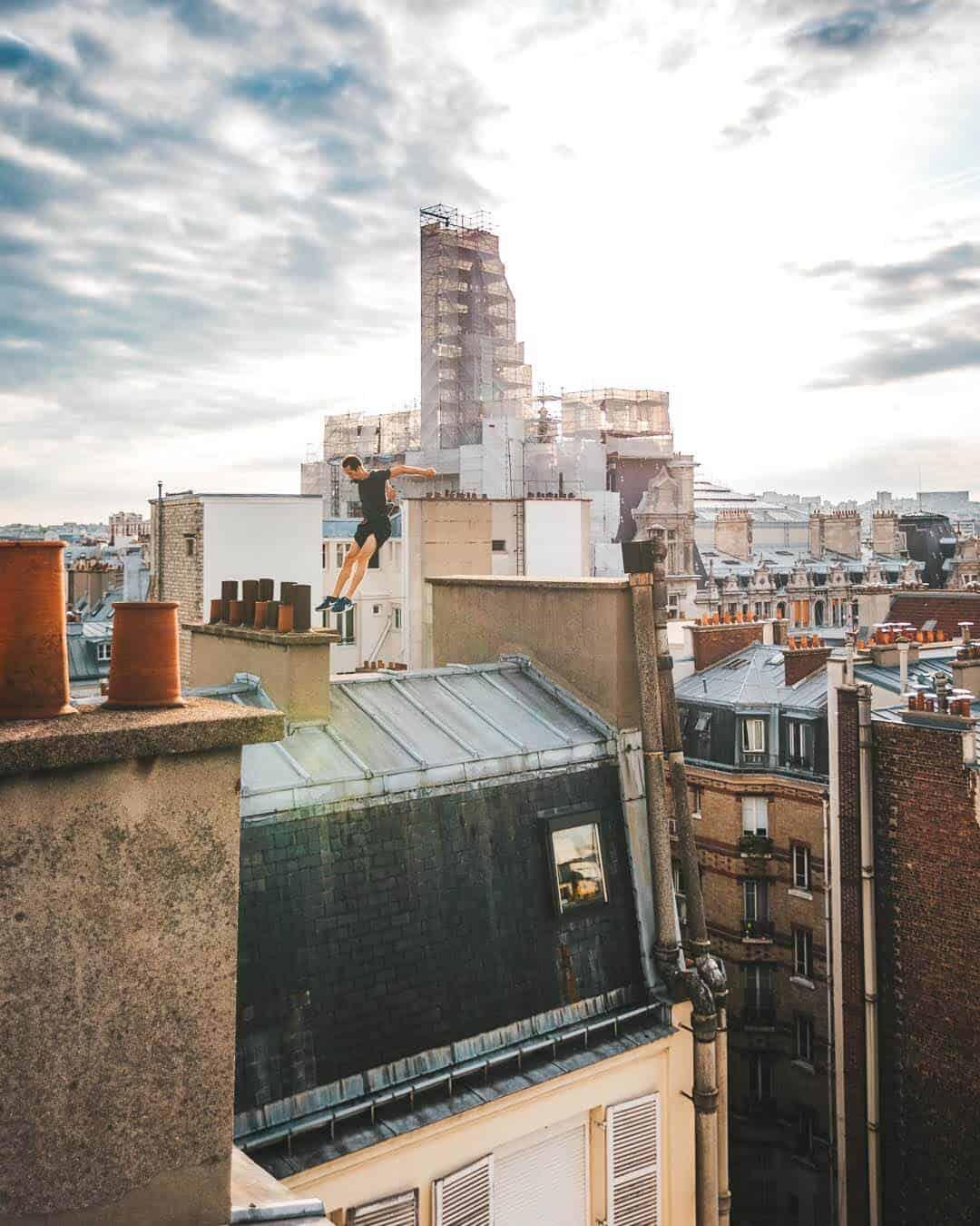 etrefort thibaut parkour clothing outdor paris rooftop pov jum3