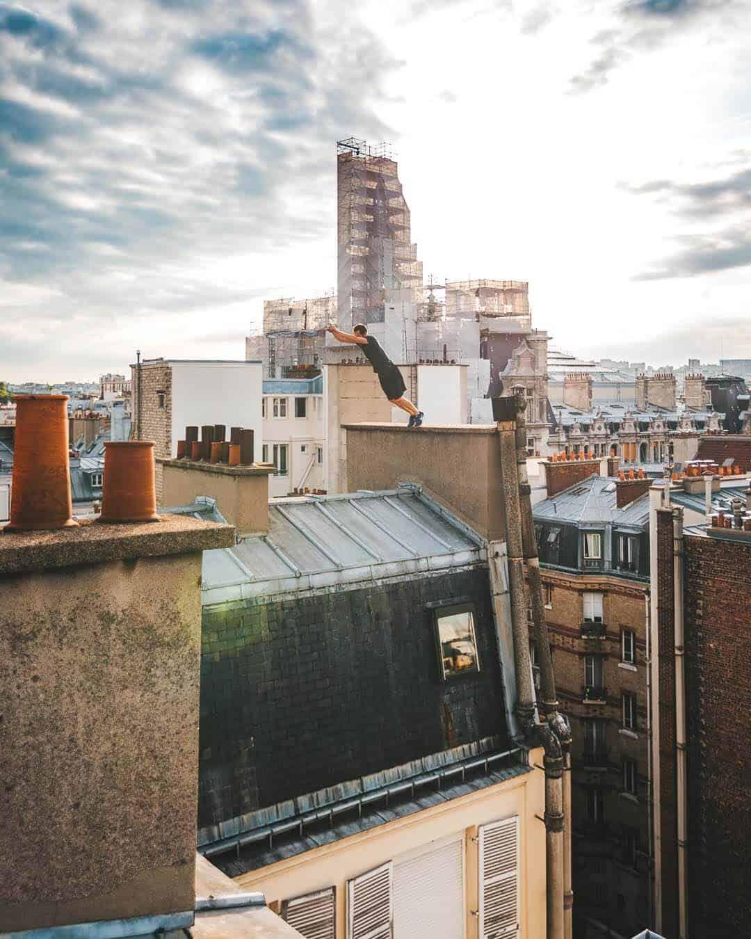 etrefort thibaut parkour clothing outdor paris rooftop pov jump1