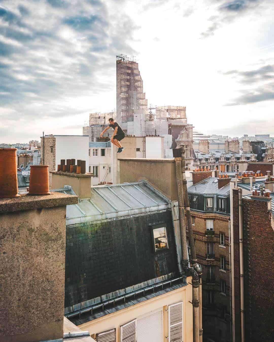 etrefort thibaut parkour clothing outdor paris rooftop pov jump2