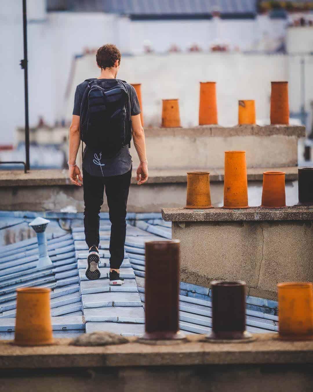 etrefort thibaut parkour clothing outdor paris rooftop pov walking
