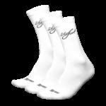 Socken weiss