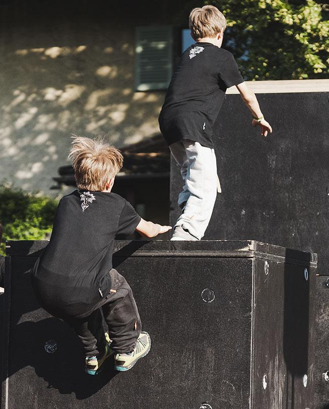 kids parkour pants etrefort