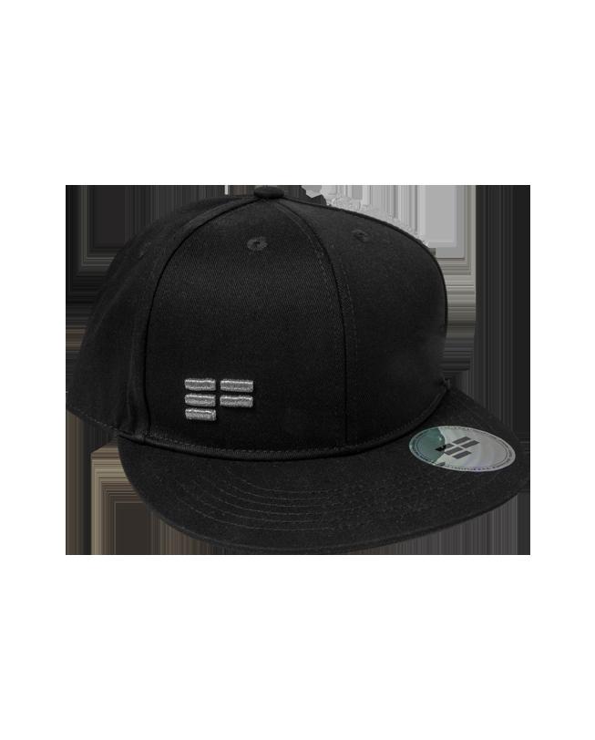 Classic Cap schwarz mit grau